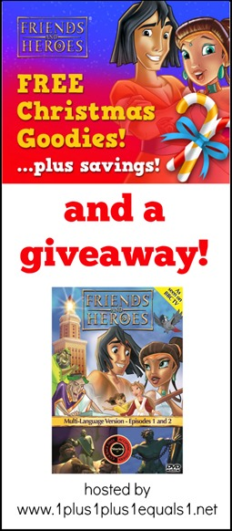 Friends and Heroes Deals and Giveaway