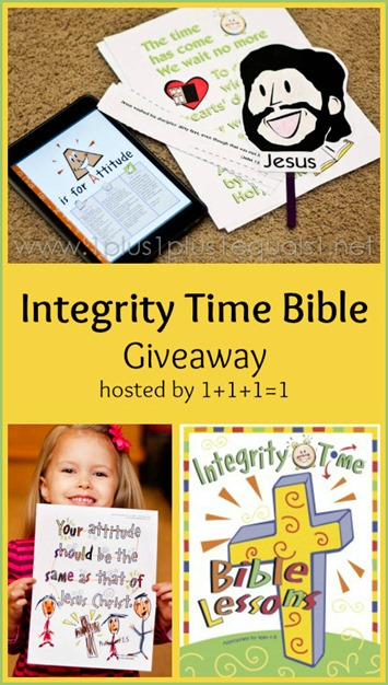 Integrity Time Bible Giveaway