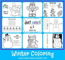 Just Color Winter