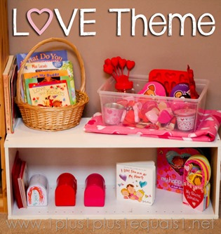Home Preschool Love Theme