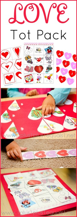 Love Tot Pack Valentine's Day Printables