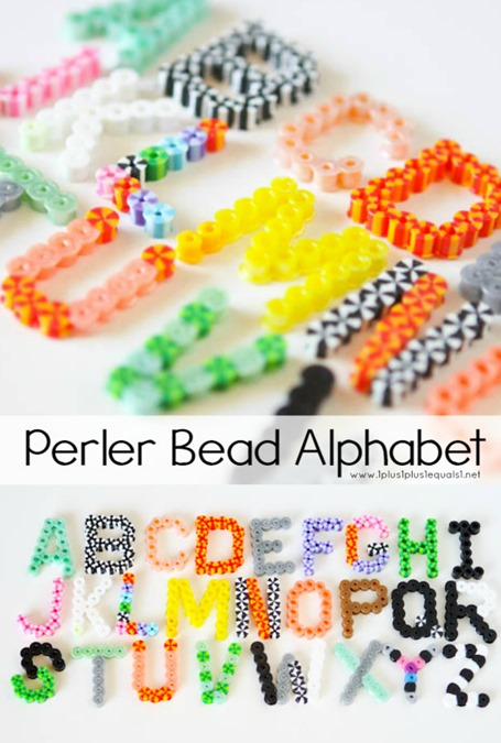 Perler Bead ABCs