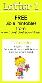 RLRS Letter I  Bible Verse Printables