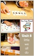You Can Read Sight Words Unit 8