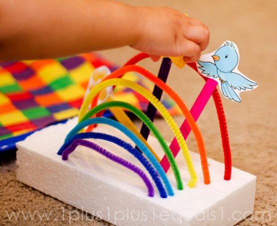Somewhere Over the Rainbow Craft