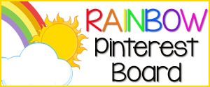 Rainbow Pinterest Board