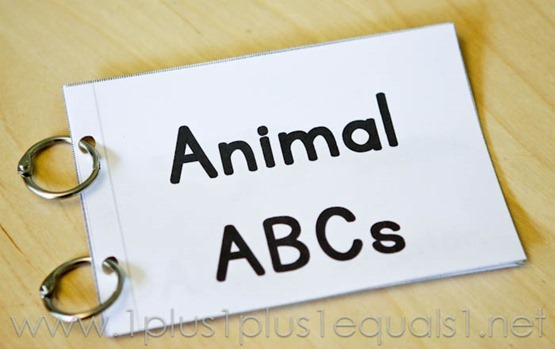 Animal ABC Easy Reader -6891