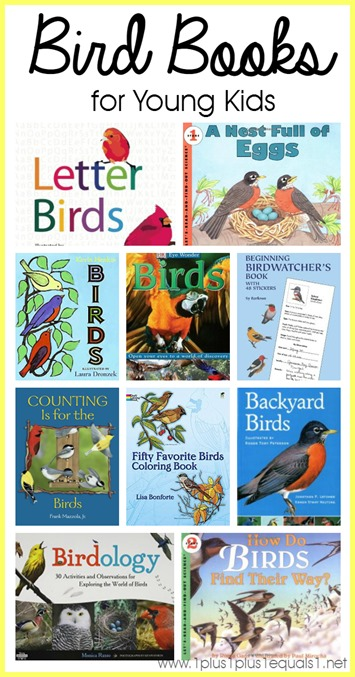 Bird Books for Young Children