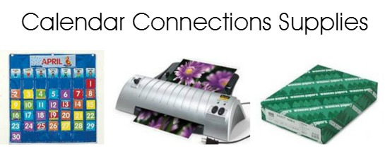 Calendar Connections Supplies