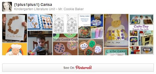 Mr. Cookie Baker Pinterest Board