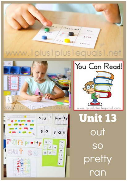 You Can Read Sight Words Unit 13