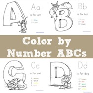 Color By Number ABCs