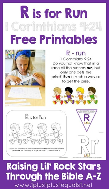Bible Verse Printables Letter R