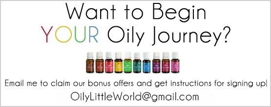 Essential Oils Sign Up OLW