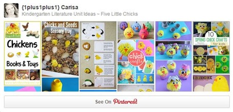 Five Little Chicks Pinterest Board