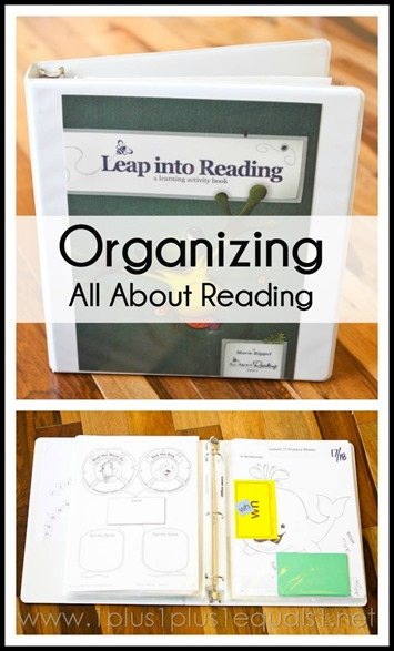 Organizing All About Reading Curriculum