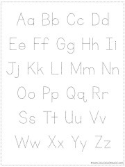 image about Free Printable Alphabet Chart called Decide on Your Private Alphabet Chart Printable - 1+1+1\u003d1