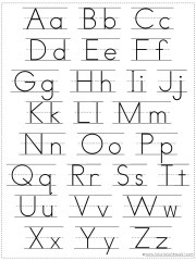 image relating to Abc Printable Chart named Get Your Individual Alphabet Chart Printable - 1+1+1\u003d1