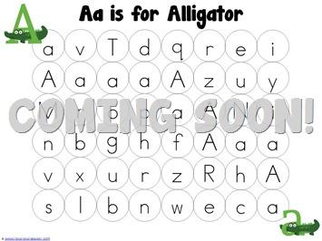 ABC Dot Fun Tot Letter Mazes