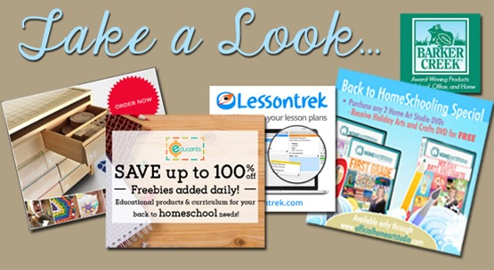 Homeschool Blog Sponsors July 2015