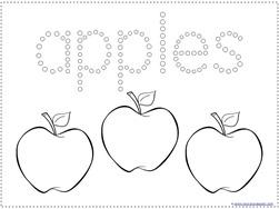 Apple Qtip Painting (3)