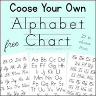 Choose-Your-Own-Alphabet-Chart