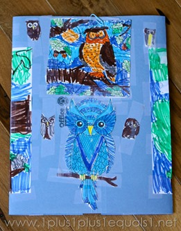 Owl Lapbook -8826