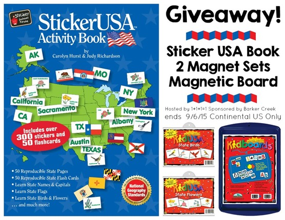 USA Geography Giveaway