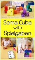 Soma Cube with Spielgaben