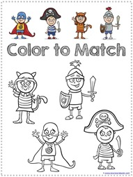Costume Kids Coloring (13)