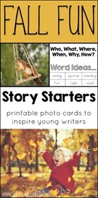 Free Fall Story Starter Photo Cards[1]