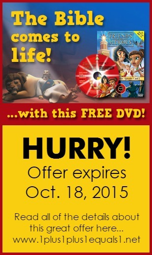 Friends and Heroes Free DVD offer