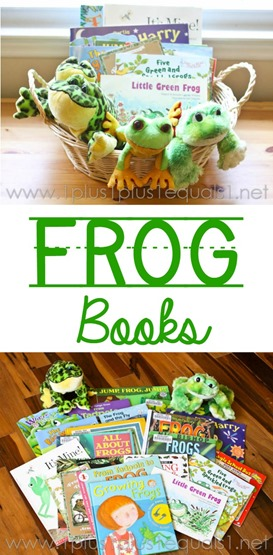 Frog Books for Kids