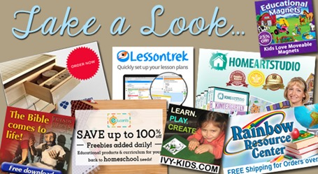 Homeschool Blog Sponsors October