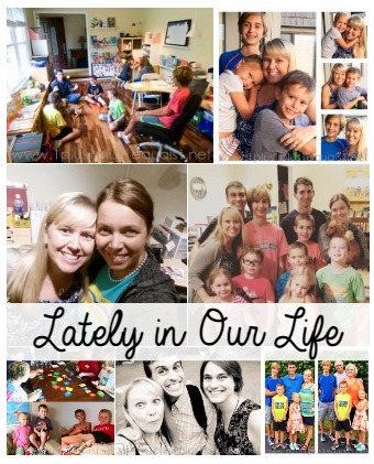 Lately in our Life Oct 2015