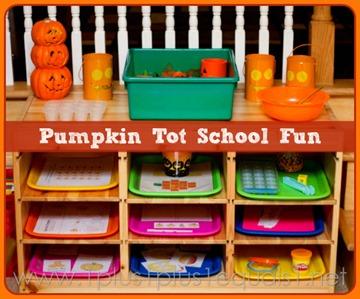 Pumpkin Tot School