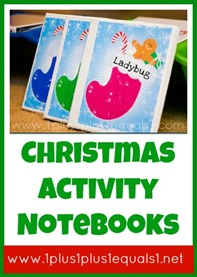 Christmas Activity Notebooks
