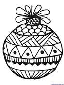 Christmas Ornament Coloring (10)