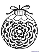 Christmas Ornament Coloring (11)