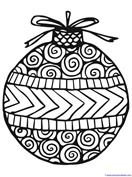 Christmas Ornament Coloring (15)