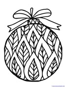 Christmas Ornament Coloring (5)