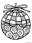 Christmas Ornament Coloring (7)