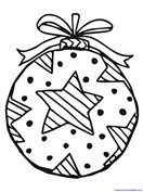 Christmas Ornament Coloring (8)