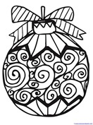 Christmas Ornament Coloring (9)