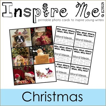 Inspire Me Story Starters Christmas