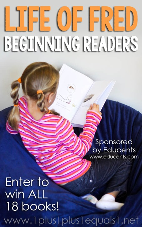 Life of Fred Beginning Readers Giveaway