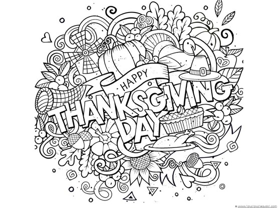 Thanksgiving Doodle Coloring Pages 111 1 – Thanksgiving Math Coloring Worksheets