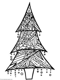 Christmas Doodle Coloring Pages 1 1 1 1