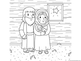 Christmas Nativity Coloring (3)