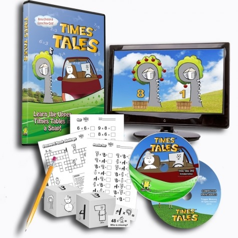Times Tales DVD Educents